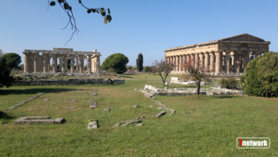 Photo of Paestum, percussioni sotto ai Templi