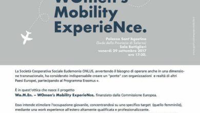 Photo of Salerno: Eudemonia Onlus presenta il progetto Women Mobility Experience