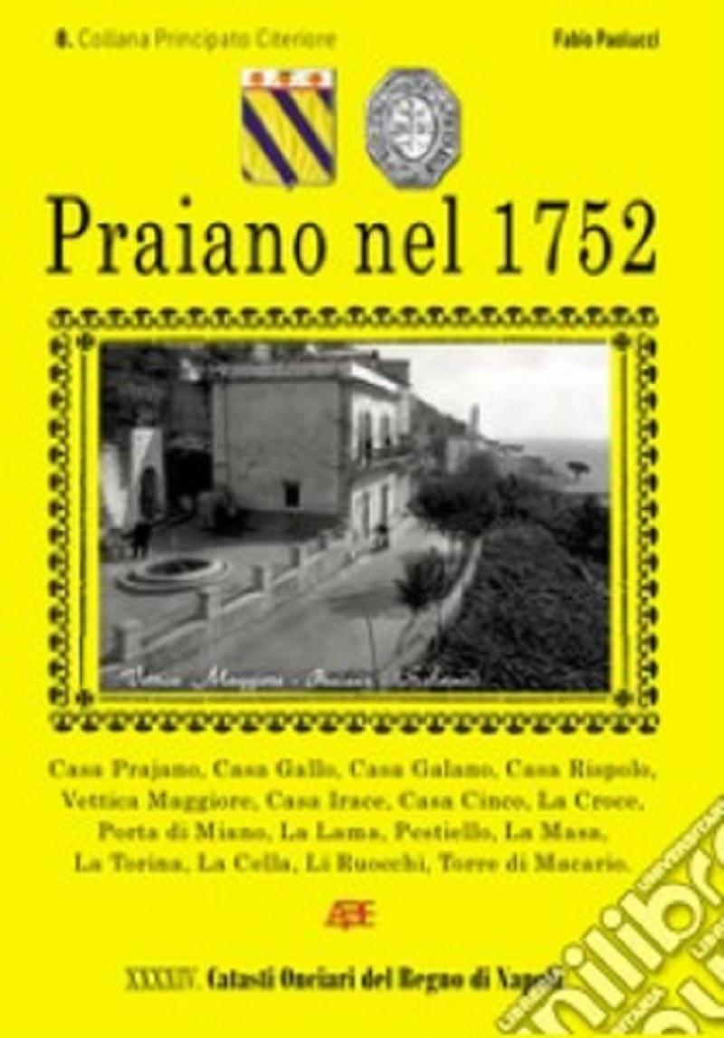 Praiano: presentato il libro di Fabio Paolucci sul Catasto