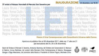 """Photo of A Mercato San Severino """"Lei"""", mostra d'arte contemporanea sullo straordinario universo della donna"""