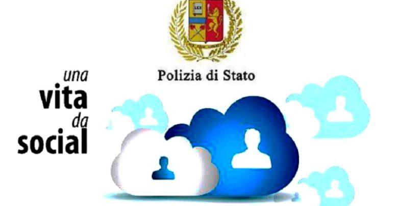 polizia vita da social logo
