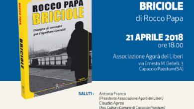 """Photo of Paestum: il Festival del Libro d'Autore continua con """"Briciole"""" di Rocco Papa"""