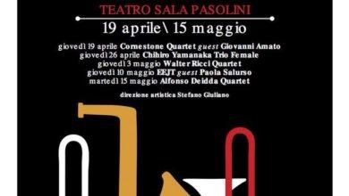 Photo of Salerno: al Teatro Diana Sala Pasolini l'International Jazz Salerno