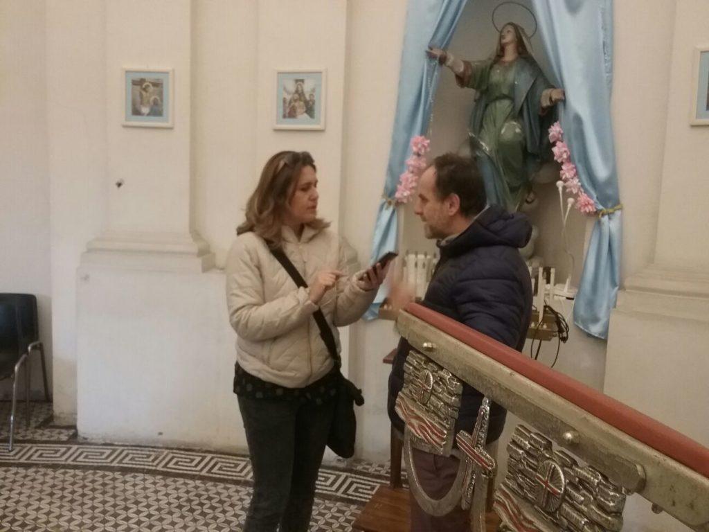 Maria Rosaria Voccia intervista Lorenzo Forte, presidente del Comitato Salute e Vita, copyright2019.sevensalerno