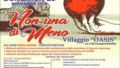 Photo of Giornata Internazionale contro la violenza sulle donne: l'evento con gli allievi del Liceo Artistico di Salerno