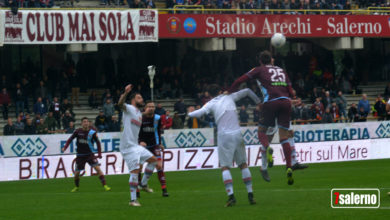 Salernitana-Foggia: 1-0