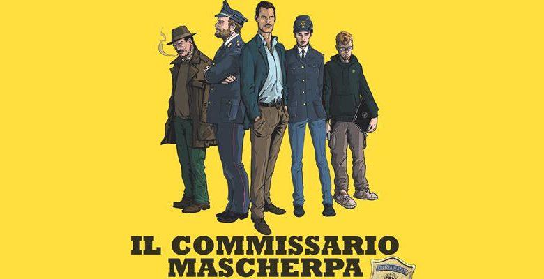 Il Commissario Mascherpa-Fumetto Polizia di Stato