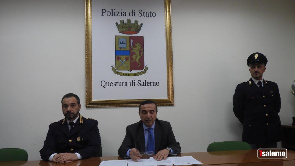 Il Report della Polizia di Stato sul 2018 a Salerno