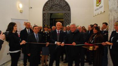 Mostra Fotografica Polizia a Salerno, Inaugurazione