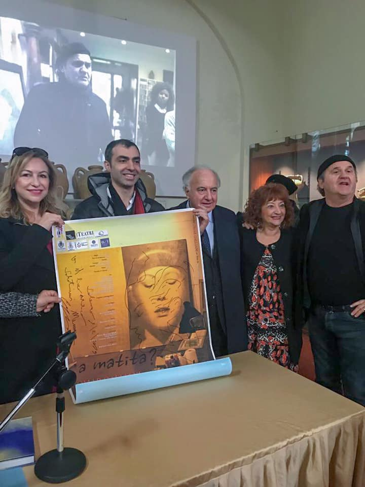 da sin. Mariarosaria Vitiello, Lemmo, Franco D'Episcopo, Ester Andreola, Omar Galliani, Salerno