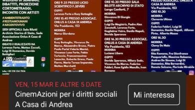CinemAzioni a Salerno, il ciclo di eventi sul diritto all'ambiente
