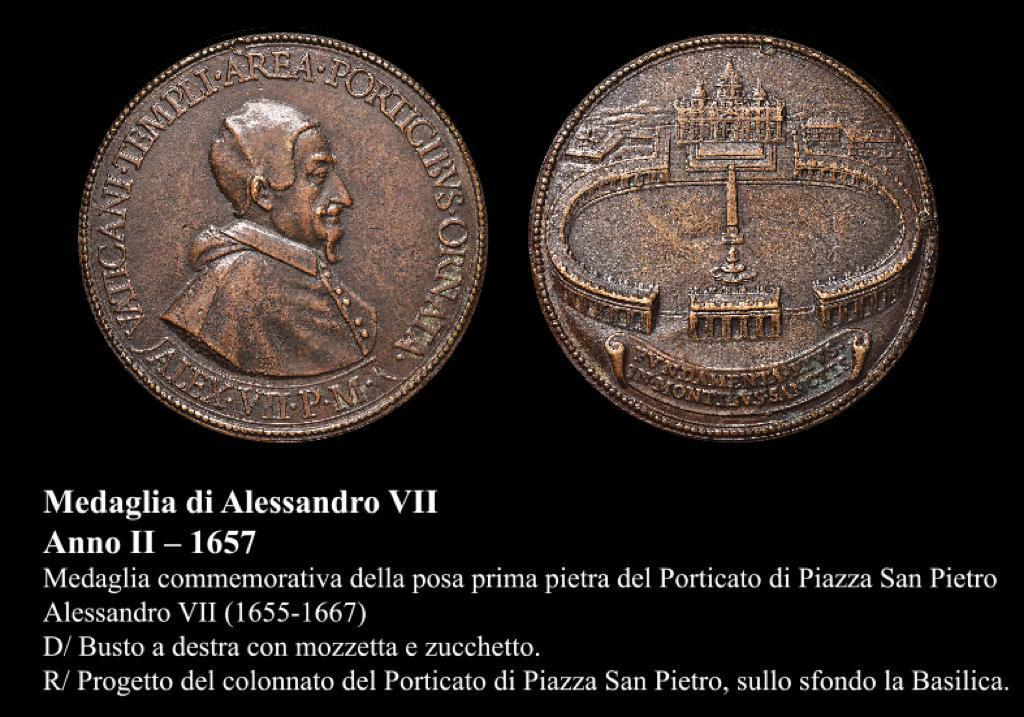 medaglia Alessandro VII