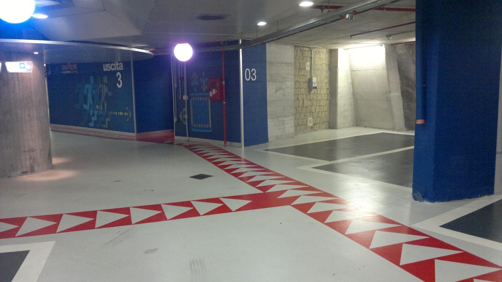 particolari zone di parcamento
