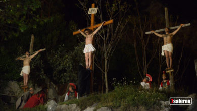 Photo of La Via Crucis  a Giffoni Valle Piana