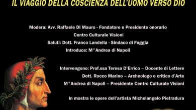 Photo of Dante, Michelangelo, Bach, Fedora al Teatro Comunale di Foggia