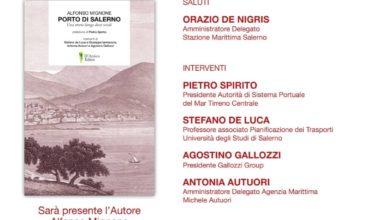 Photo of Salerno: alla Stazione Marittima la presentazione del libro sul Porto di Salerno