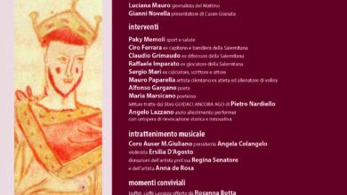 Photo of Cent'Anni Granata, la collettiva a Palazzo di Provincia a Salerno