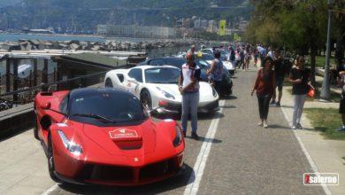 Photo of Ferrari, la Cavalcade 2019 a Salerno