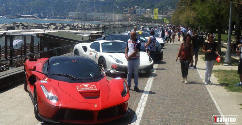 Ferrari a Salerno, Fotoreporter G. Gambardella per Sevensalerno
