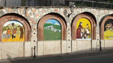 Photo of Postiglione, galleria d'arte a cielo aperto con i Murales del Liceo Artistico di Salerno