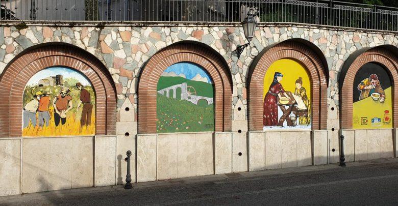 Postiglione, Murales Liceo Artistico Sabatini Menna