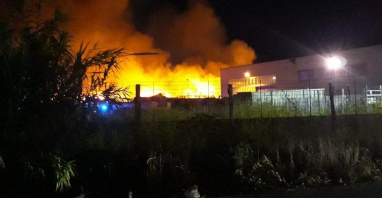 Battipaglia-Incendio MGM