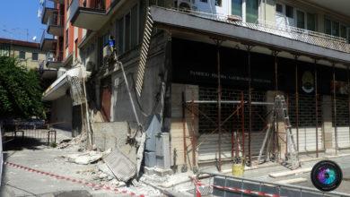Photo of Salerno, crolla un balcone, nessuna conseguenza