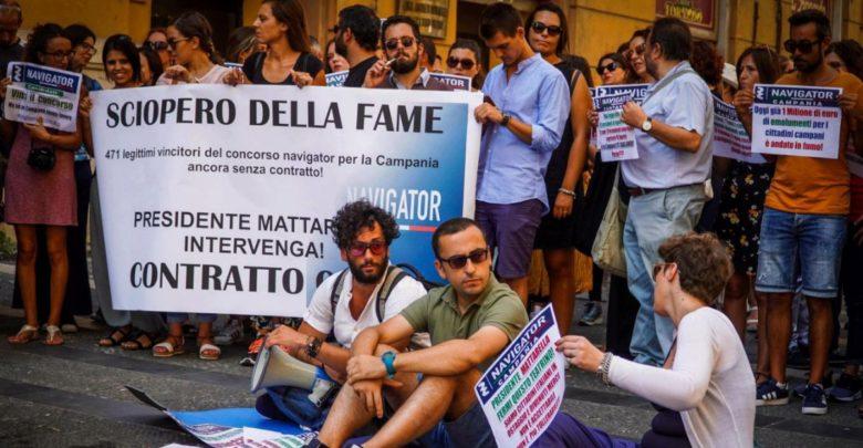 sciopero della fame navigator campania