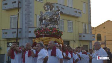 Photo of La Statua di San Matteo Patrono di Salerno arriva a Pontecagnano