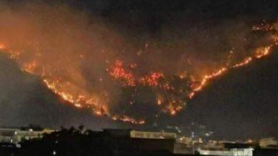 """Photo of Incendio a Sarno, frutto di una """"bravata"""""""