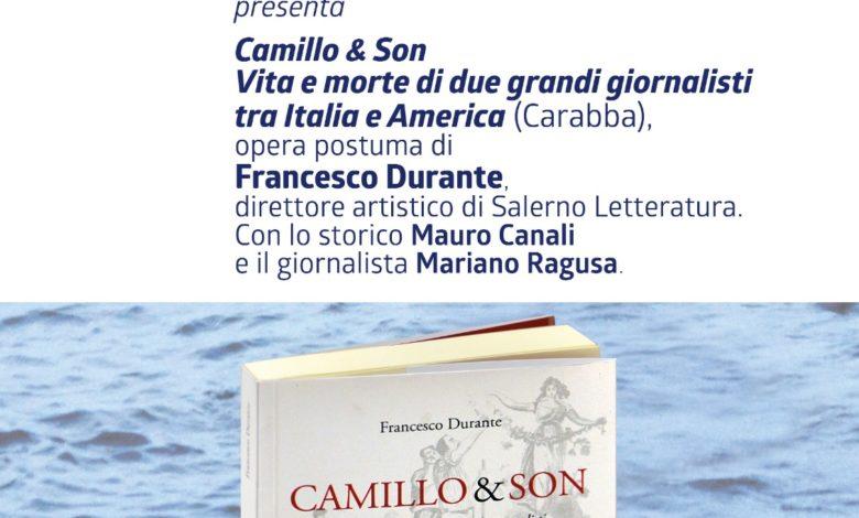 Camillo & Son, presentazione postuma del libro di Francesco Durante