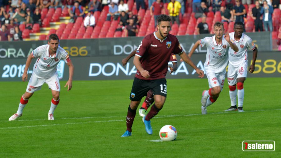 Salernitana Perugia 1-1