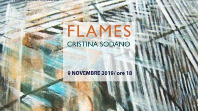 Photo of Flames: i foulard d'arte di Cristina Sodano
