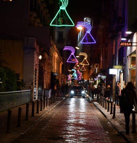 luci d artista a napoli, foto Comune di Napoli