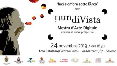 Photo of Punti di Vista, la mostra di Arte Digitale all'Arco Catalano di Palazzo Pinto a Salerno