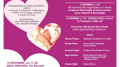 Photo of Terapia Intensiva Neonatale, la presentazione a Salerno