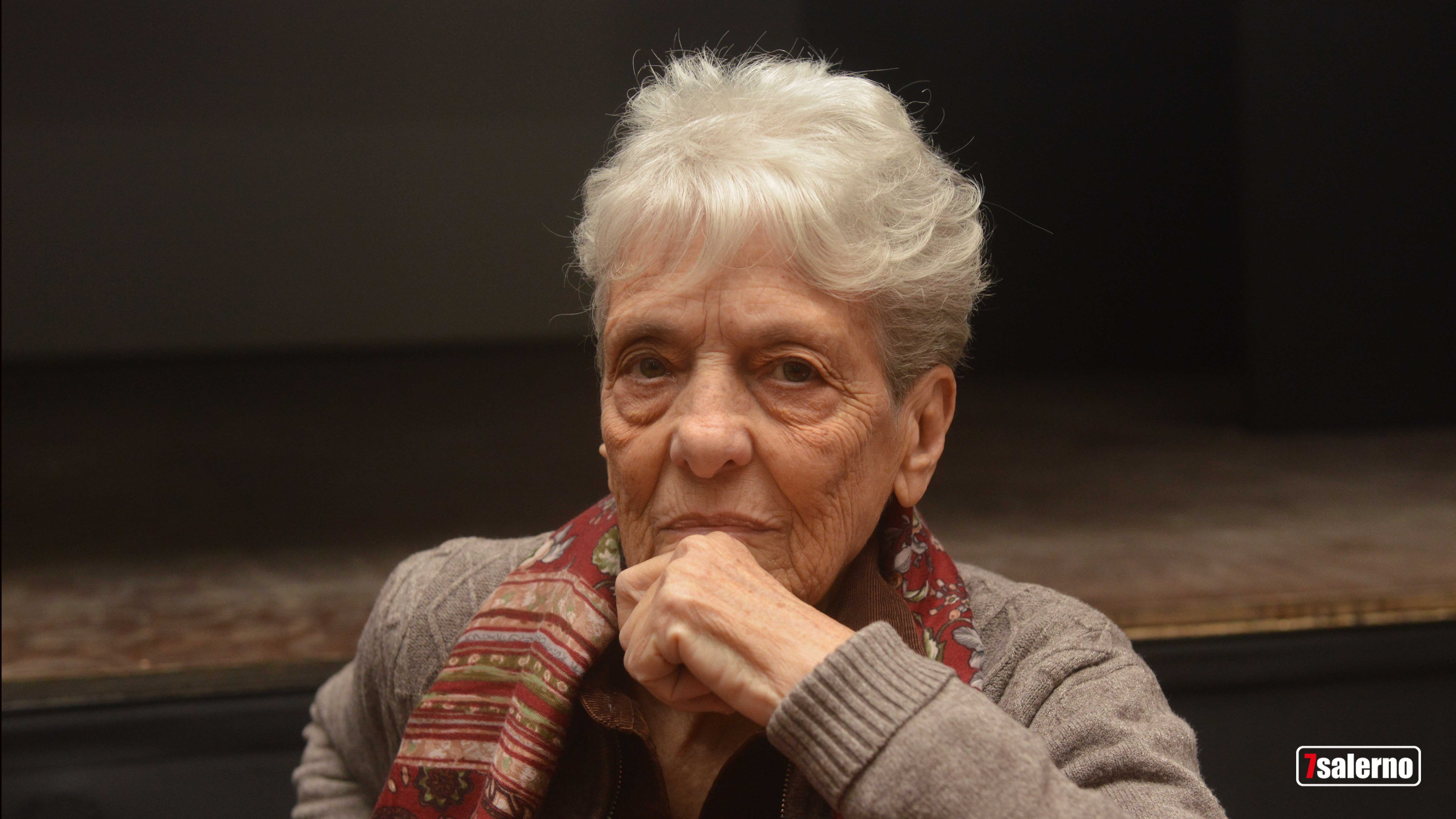 La pittrice Ana Maria Erra Guevara-Copyright2019.Sevensalerno