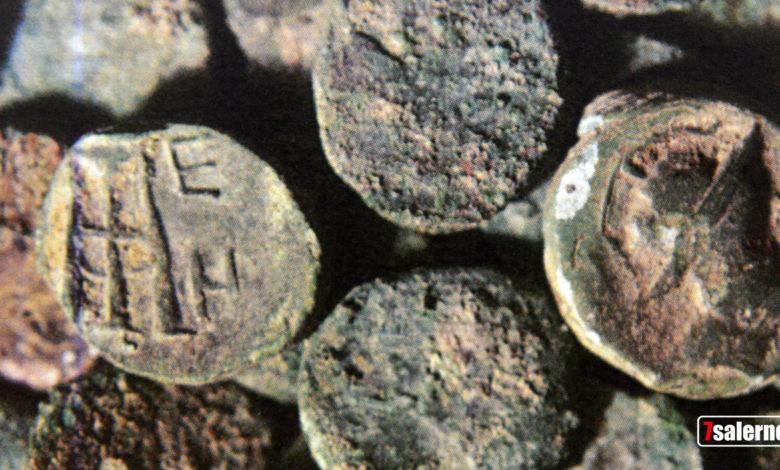 monete antiche- fotoreporter G. Gambardella per Sevensalerno, Copyright2019.Sevensalerno