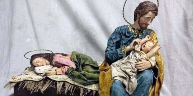 Facciamo riposare Mamma, Presepe, Natale 2019