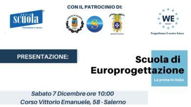 Photo of Salerno: nasce la prima scuola di Europrogettazione