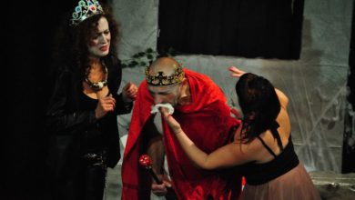 Photo of Ionesco al Teatro Genovesi a Salerno
