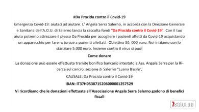 Photo of Salerno, L'Ospedale Da Procida contro il Covid-19