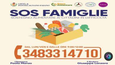 Photo of Coronavirus, Pontecagnano Faiano, l'aiuto alle famiglie da ASAD Pegaso