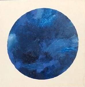 Carola-Bolous-Bluemoon-acrilico-su-tela-40x40x3cm-2019