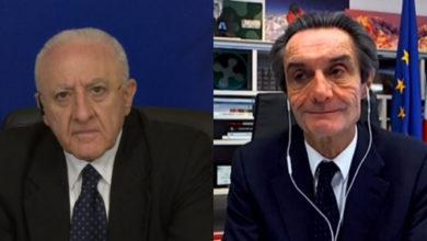 Photo of Covid-19, confronto tra i governatori De Luca e Fontana