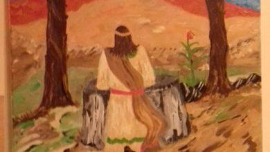 Photo of Via Crucis: I – Gesù nell'Orto degli Ulivi, Artista Maria Iannone