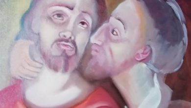 Photo of Via Crucis: II Gesù tradito da Giuda, è arrestato, Artista Lucia Caiazza