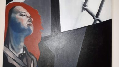 Photo of Via Crucis: IX Gesù incontra le donne di Gerusalemme, Artista Concetta Marrocoli