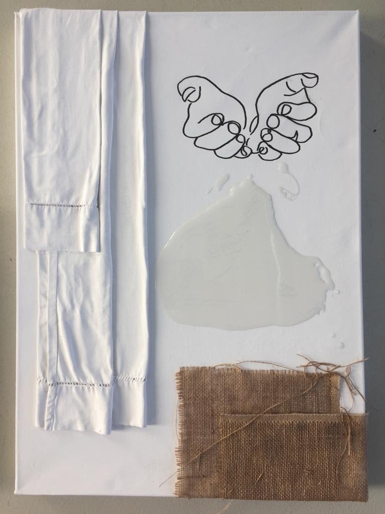 V-Gesu-giud-da-Pilato-MUSSI-Fiorenzo - mixed media su tela 50x70