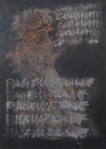 VI-Flagellazione-e-Incoronazione-di-Spine-SILVESTRO-Pietro - mixed media 50x70
